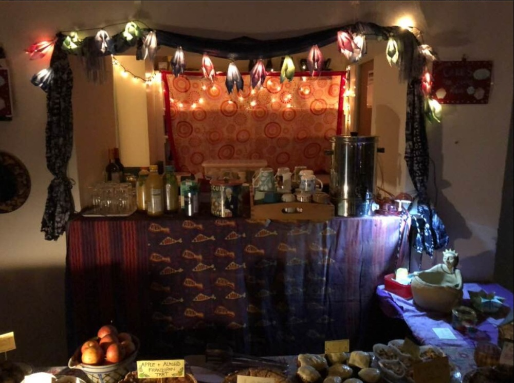Hall set up for Martha 2